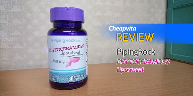 REVIEW : PipingRock PhytoCeramides Lipowheat